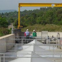 Station d'épuration de Grasse (06)